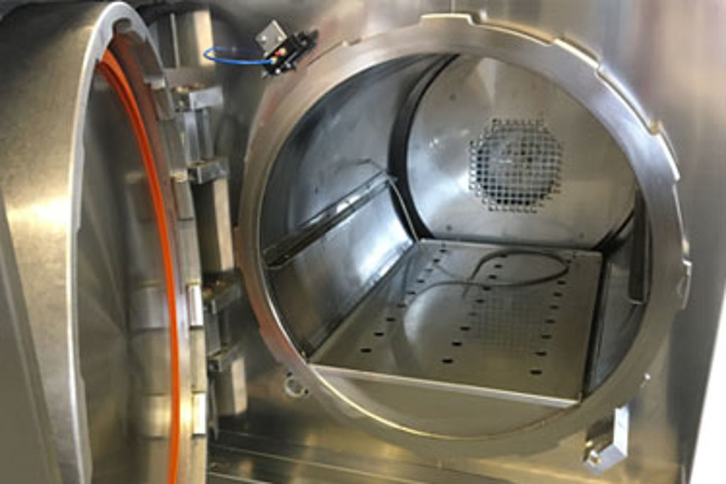 Over pressure stainless steel autoclaves