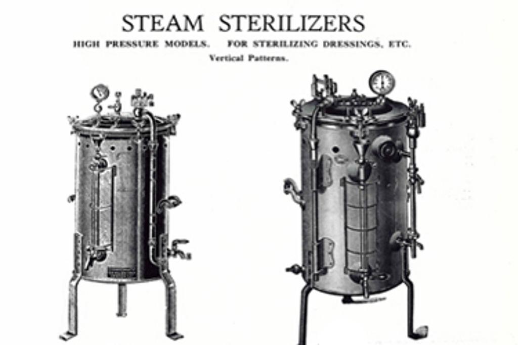 Astell Retrospective – 1930's vacuum autoclave