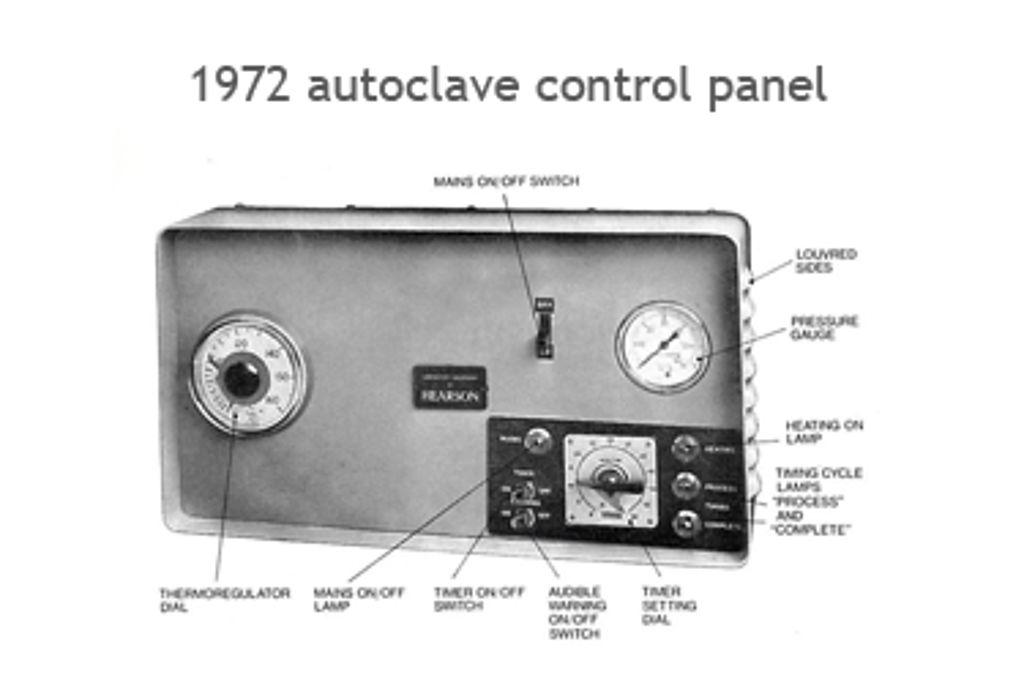 Astell Retrospective – 1972 autoclave controller
