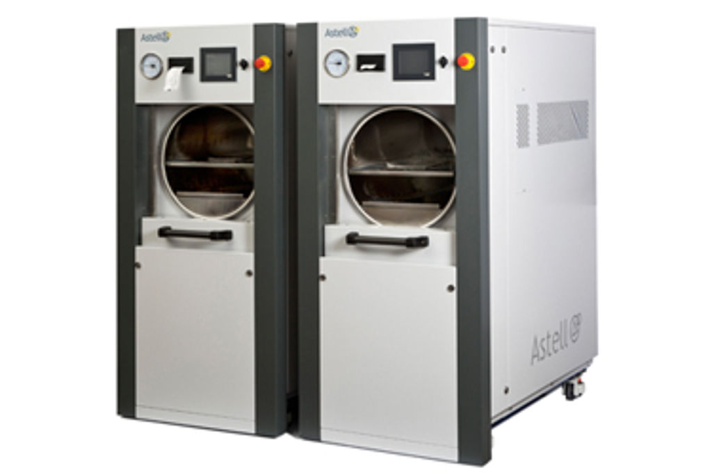 New sliding front autoclave orders confirmed