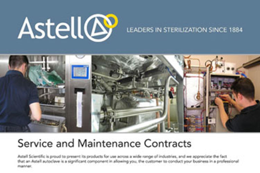 Autoclave Service and Maintenance Contracts