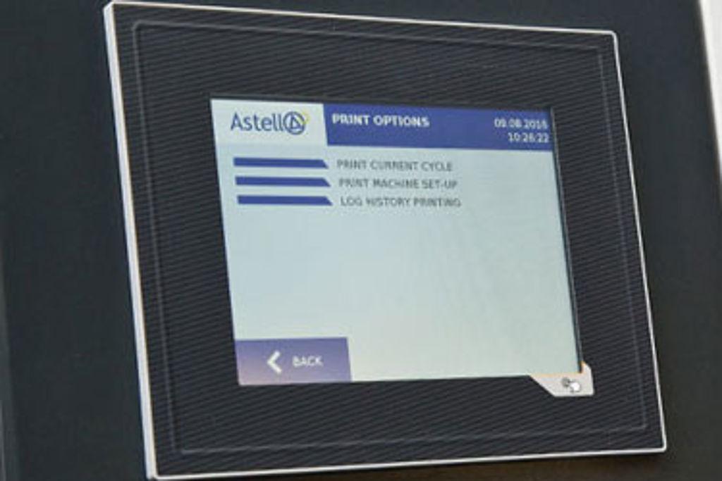 New video tutorials for Astell's touchscreen controller