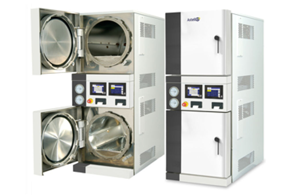 The 'Duaclave' range of dual chamber autoclaves