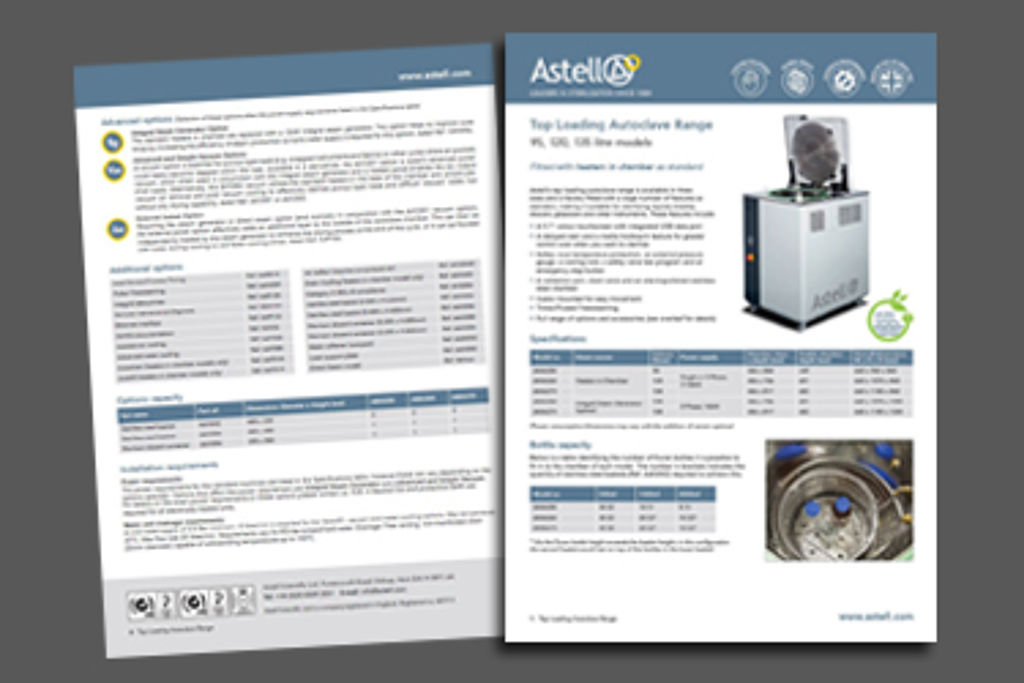 New Product Data Sheets available now