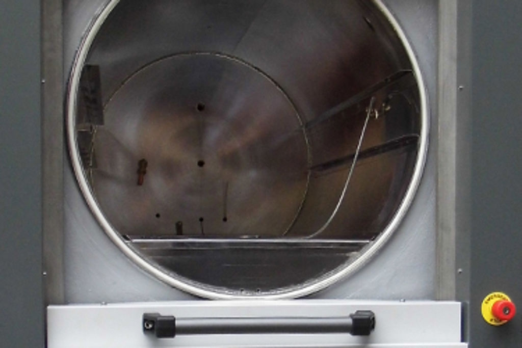 Astell Scientific's circular chamber autoclaves with sliding door offer potential cost and space savings