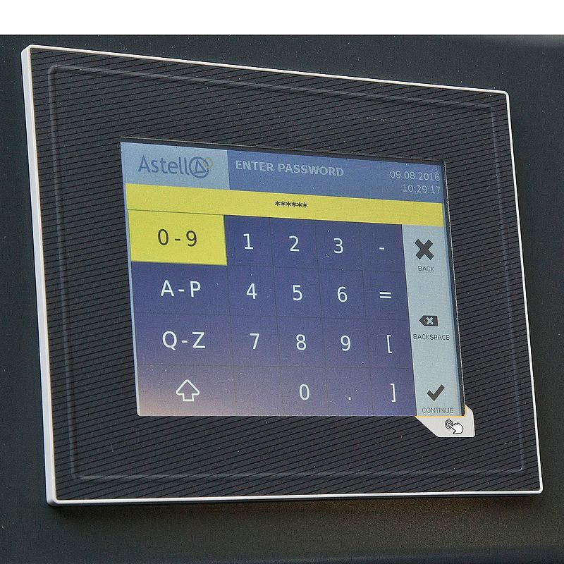 "5.7"" colour touchscreen controller"