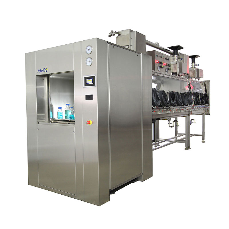 250 - 1,200 Litre Double Door SQUARE Autoclave