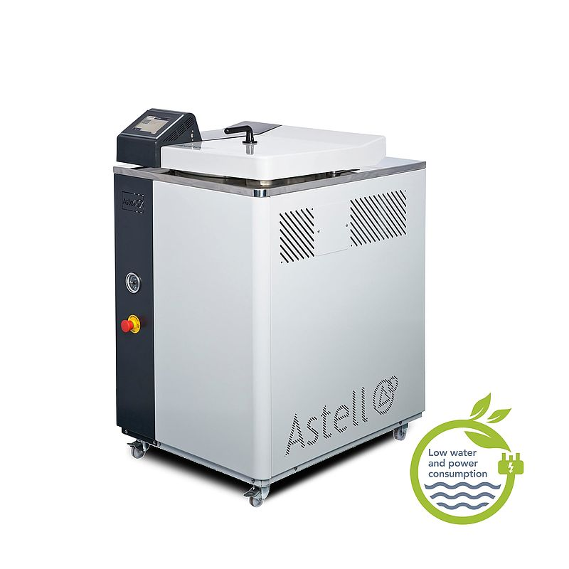 Large toploading autoclave