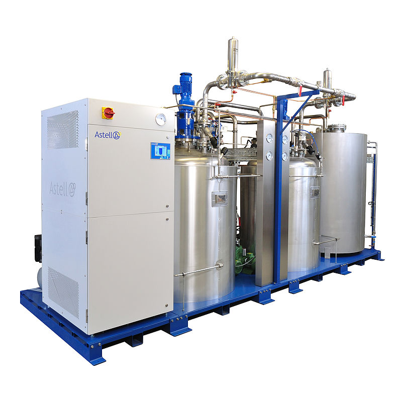 2000 LITRE BATCH EFFLUENT DECONTAMINATION SYSTEM