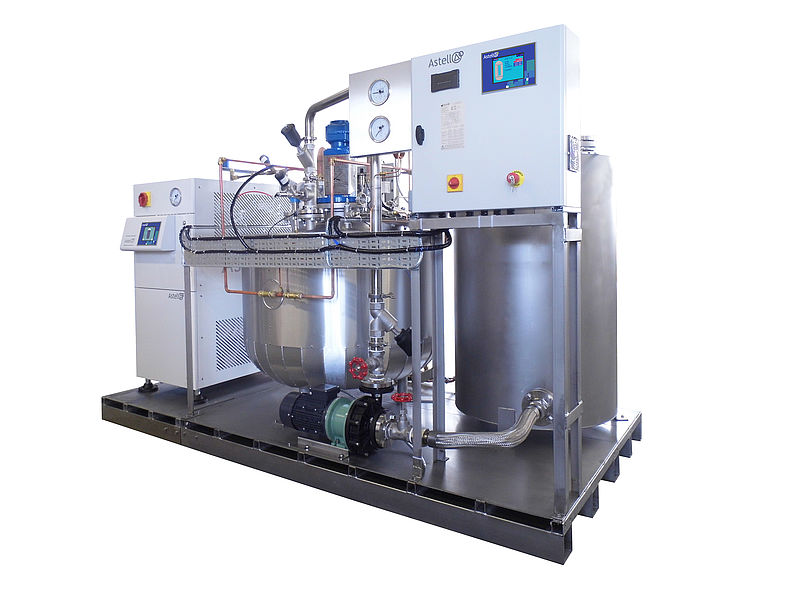 300 LITRE BATCH EFFLUENT DECONTAMINATION SYSTEM